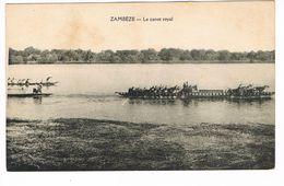 CPA.Afrique. Zambéze.Le Canot Royal.  (F.171) - Zambie