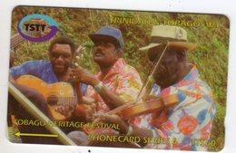 TRINIDAD & TOBAGO CARAIBES MV Cards T&T-180A 60$ 180CTTA TOBAGO HERITAGE FESTIVAL - Trinité & Tobago