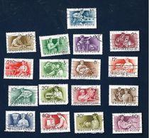 HUNGARY Lot Of 17 Stamps - Hungary