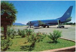 Samos Airport / Maersk Air - Boeing 737-700 - 1946-....: Moderne
