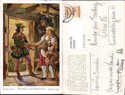 583593,Künstler AK G. Hinke Märchen Brüderchen Schwesterchen - Märchen, Sagen & Legenden