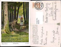 583591,Künstler AK O. Kubel Märchen Rotkäppchen Brüder Grimm - Märchen, Sagen & Legenden