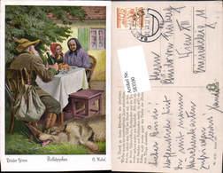 583590,Künstler AK O. Kubel Märchen Rotkäppchen Brüder Grimm - Märchen, Sagen & Legenden