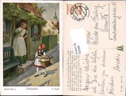 583589,Künstler AK O. Kubel Märchen Rotkäppchen Brüder Grimm - Märchen, Sagen & Legenden