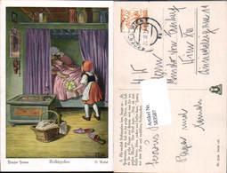 583587,Künstler AK O. Kubel Märchen Rotkäppchen Brüder Grimm - Märchen, Sagen & Legenden