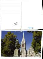 583560,Australia Christchurch Kirche Südinsel - Ansichtskarten