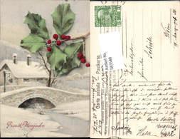 583548,Lithographie Neujahr Brücke - Neujahr