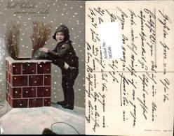 583546,Lithographie Neujahr Rauchfangkehrer Schornsteinfeger - Neujahr
