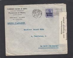 PALMERAIES DE MOPOLI S.A. LETTRE OUVERTE PAR LA CENSURE A EMMERICH. - Weltkrieg 1914-18
