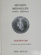 Munzen - Medaillen Auktion 264 - Mai 1995 Zurich - Deutsch