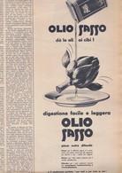 (pagine-pages)PUBBLICITA' OLIO SASSO  Tempo1958/12. - Other