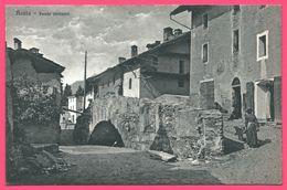 Aosta - Ponte Romano - Animée - Edit. BRUNNER Et Cie - Aosta