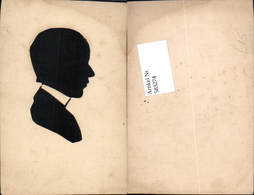 583274,echter Scherenschnitt Silhouette Kopd Portrait - Scherenschnitt - Silhouette