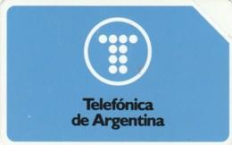 PHONE CARD NEW URMET ARGENTINA (E43.5.8 - Argentina