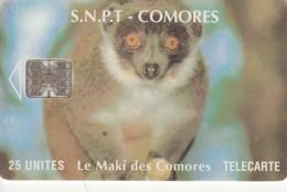 PHONE CARD COMORES (E43.25.1 - Comores