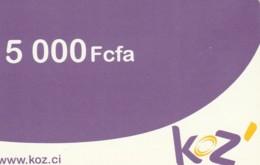 PREPAID PHONE CARD CIAD (E43.34.3 - Ciad