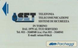 TESSERA ATM PARCHEGGI  (E43.36.1 - Biglietti D'ingresso