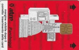 TESSERA ATM PARCHEGGI  (E43.36.3 - Biglietti D'ingresso