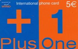 PREPAID PHONE CARD-WIND ITALIA (E43.37.4 - Schede GSM, Prepagate & Ricariche