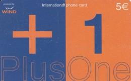 PREPAID PHONE CARD-WIND ITALIA (E43.37.7 - Schede GSM, Prepagate & Ricariche