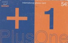 PREPAID PHONE CARD-WIND ITALIA (E43.37.8 - Schede GSM, Prepagate & Ricariche