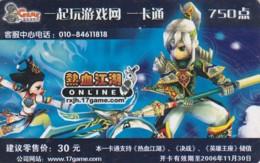 PREPAID PHONE CARD CINA (E43.46.7 - Cina