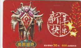 PREPAID PHONE CARD CINA (E43.47.1 - Cina