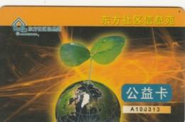 PREPAID PHONE CARD CINA (E43.48.6 - Cina