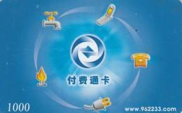 PREPAID PHONE CARD CINA (E43.49.1 - Cina