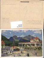 582569,Künstler Ak E. Kosy Strbske Pleso Grandhotel Slovakia - Slowakei