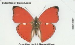 PHONE CARD -URMET SIERRA LEONE (E43.52.7 - Sierra Leone
