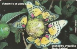 PHONE CARD -URMET SIERRA LEONE (E43.52.8 - Sierra Leone