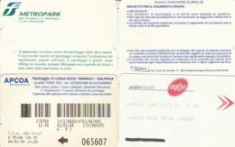 4 PARCHEGGI  (E43.59.1 - Biglietti D'ingresso