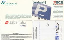 4 PARCHEGGI  (E43.59.2 - Biglietti D'ingresso