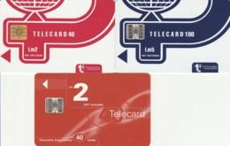 LOT 3 PHONE CARDS MALTA (E43.59.6 - Malte
