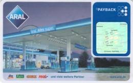 PAYBACK ARAL -NON ATTIVA  (E43.60.6 - Geldkarten (Ablauf Min. 10 Jahre)