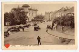 34471-ZE-88-VITTEL-BRASSERIE DE LORRAINE------------animée-voitures - Vittel Contrexeville