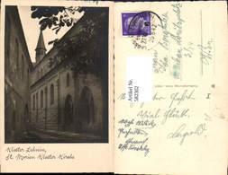 582302,Foto Ak Kloster Lehnin St Marien Kloster Kirche Bahnpost Zug 6 Grosskreuz Mark - Deutschland