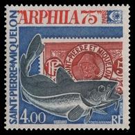 St. Pierre & Miquelon 1975 - Mi-Nr. 507 ** - MNH - Fische / Fish - St.Pierre & Miquelon