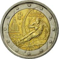Italie, 2 Euro, Torino Winter Olympics, 2006, TTB, Bi-Metallic, KM:246 - Italie