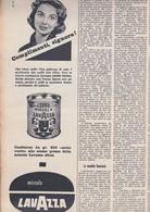 (pagine-pages)PUBBLICITA' LAVAZZA  Tempo1958/53. - Livres, BD, Revues