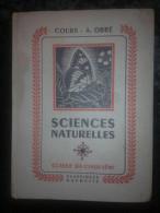 Cours A. Obré: Sciences Naturelles, Classe De Cinquième/Classiques Hachette,1958 - Livres, BD, Revues