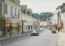 76 - CANY-BARVILLE - Rue Du Général De Gaule - Carte Animée - Cpm - écrite - - Cany Barville