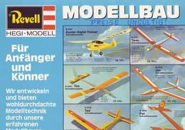 KAT265 Modellbaufolder REVELL 1977, 4-seitiger Infofolder Im A3-Format - Littérature & DVD