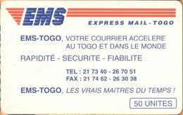 Togo - TG-OPT-0013, EMS, Express Mail Service, Courier Services, 50 U, 1996, Used - Togo