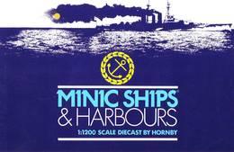 KAT267 Modellbauprospekt HORNBY Minic Ships, Neuwertig, 6-seitig, Deutsch - Littérature & DVD