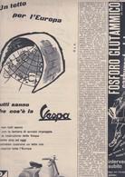 (pagine-pages)PUBBLICITA' VESPA     Tempo1958/21. - Libri, Riviste, Fumetti