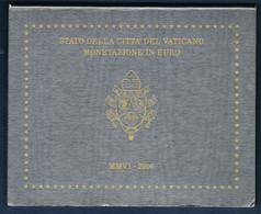 VATICAN COFFRET BU 8 MONNAIES EURO 2006 BENOIT XVI - Vatican