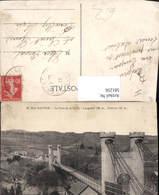 581256,Haute-Savoie Le Pont De La Caille Hängebrücke Brücke - Brücken