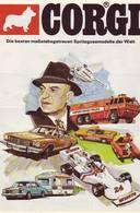KAT268 Modellbauprospekt CORGI Spritzgussmodelle, 1976 - Littérature & DVD